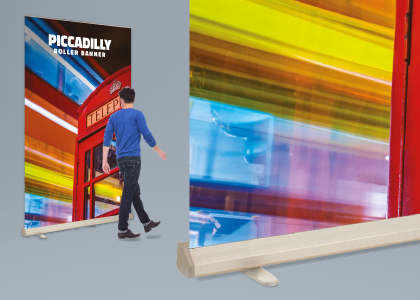 Piccadilly - XL Roller Banner