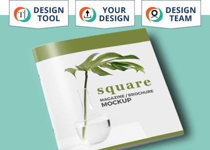 Stapled Brochures (Square)