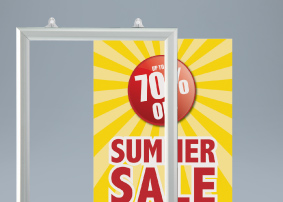 Slide in Poster Frame
