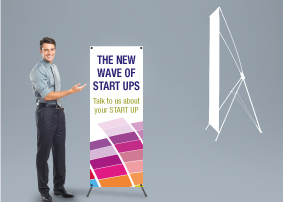 X-Banner Stand - small