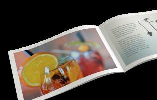 Stapled Brochures (Landscape)