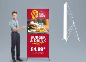 X-Banner Stand - medium